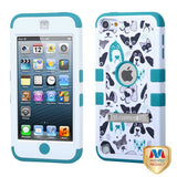 Impact Hard Case +Silicone Protector TUFF Case +Stand for iPod Touch 5th/6th Gen