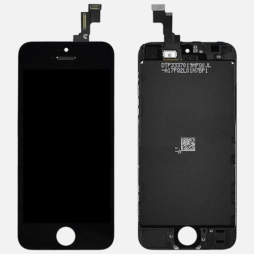 (Closeout) Display Part - Glass Screen, Digitizer & LCD for iPhone 5S, Black