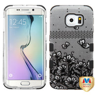 2D Design Case +Silicone Protector TUFF Cover for Samsung G925 Galaxy S6 Edge
