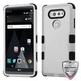 For LG V20 Natural TUFF Impact Hybrid Hard Armor Phone Protector Case Cover