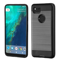 For Google Pixel 2 XL Brushed Hybrid Shockproof Impact Protector Case Cover