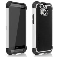 Ballistic Shell Gel Rugged Protector Shock Cover Silicone Case for HTC One 2