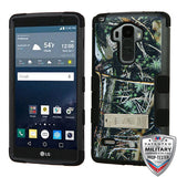 For LG G Vista 2/G Stylo TUFF Hybrid Rugged Phone Protector Cover (w/ Stand)