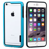 For iPhone 6s Plus/6 Plus Black/Solid Blue MyBumper Phone Protector Cover