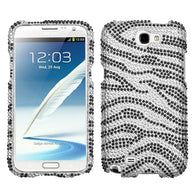 Diamond Bling Jewel Rhinestone Diamante Case Cover for Samsung Galaxy Note II