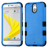 For HTC Bolt Natural Dark Blue/Black TUFF Hybrid Phone Protector Case Cover