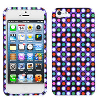 Multicolor Grid Dots/Purple/White