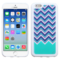 Chevron Purple/Teal Blue/Pink
