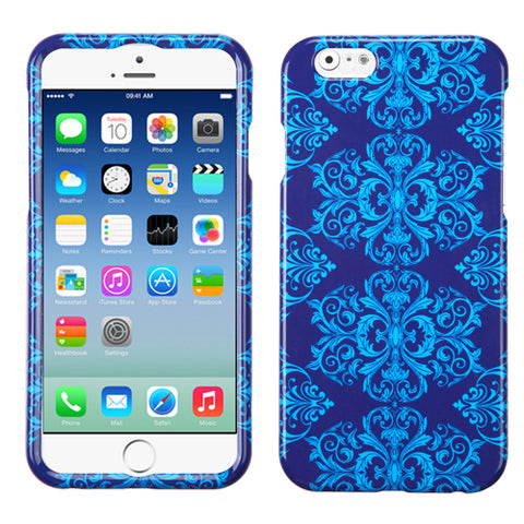 Damask/Paisley Blue