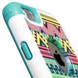 Aztec Tribal Print Hybrid Molded Protector TUFF Merge Case for iPhone 6