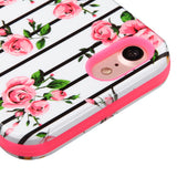 For iPhone 7 / 8 Pink Fresh Roses/Electric Pink VERGE Hybrid Protector Cover