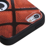 Basketball Sports TUFF Rugged Hybrid Protector Case for iPod Touch 5th