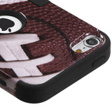 Football Sports TUFF Hybrid Impact Protector Cover Case iPod Touch 5 Gen