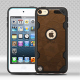 For iPod Touch 5th / 6th Gen Smoke/Black Challenger Hybrid Protector Cover Case