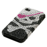 Skull Diamond Fusion Cover Protector Case for iPhone 4 4S