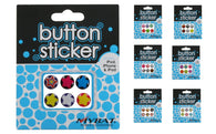 6 Pack Home Key Button Decorative Stickers for iPhone iPad iPod