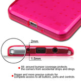 For Samsung Grand Prime Plus/Galaxy Grand Prime Hot Pink SPOTS Candy Skin Cover