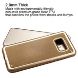 For Samsung Galaxy S8 Plus Gold Premium Slim Protector Candy Skin Case Cover