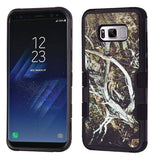 For Samsung Galaxy S8 Plus Yellow/Black Vine/Black TUFF Hybrid Protector Cover