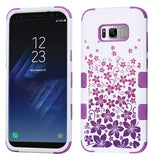 For Samsung Galaxy S8 Plus Rising Hibiscus/Electric Purple TUFF Protector Cover