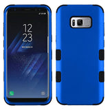 For Samsung Galaxy S8 Plus Titanium Dark Blue/Black TUFF Phone Protector Cover