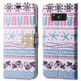 For Samsung Galaxy S8 Plus Jumping Fishes Diamante MyJacket Wallet with Belt