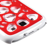 Red/White Synapse Protective Cover Case for Samsung Galaxy S III