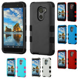 For Alcatel Walters A30 Plus TUFF Hybrid Phone Armor Protector Case Cover