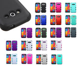 For Samsung Galaxy Avant G386T Hybrid TUFF Rubber Hard Protective Cover Case