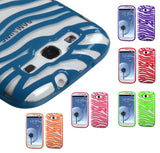 Transparent Durable Hard Flexible Protector Cover Case for Samsung Galaxy S3