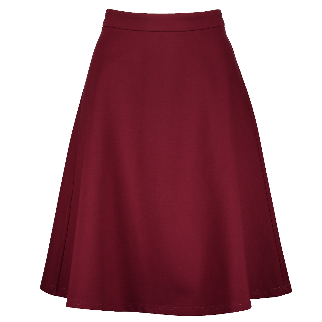 Ponte Skirt- Seasonal Colors 27""