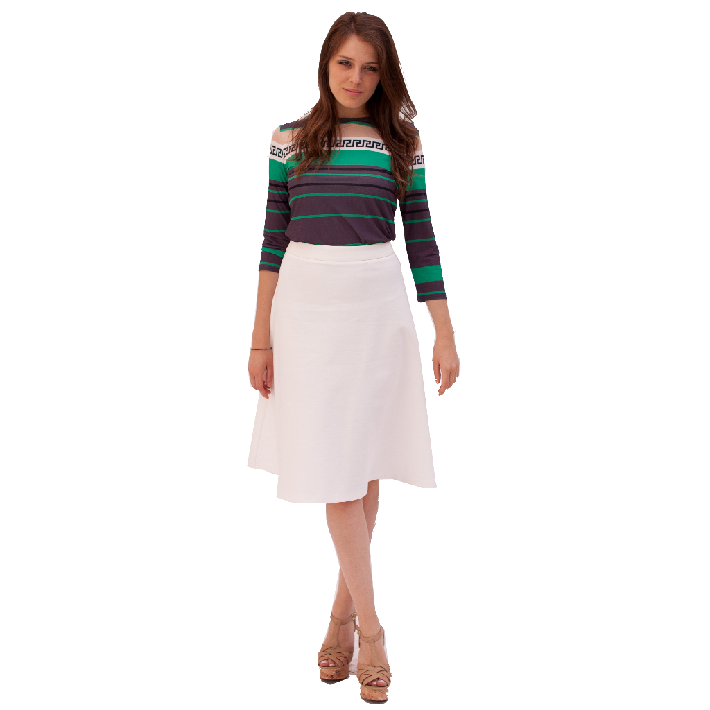 Ponte Skirt- Seasonal Colors 25""
