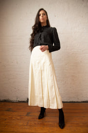 "35"" Inverted Pleats Skirt"