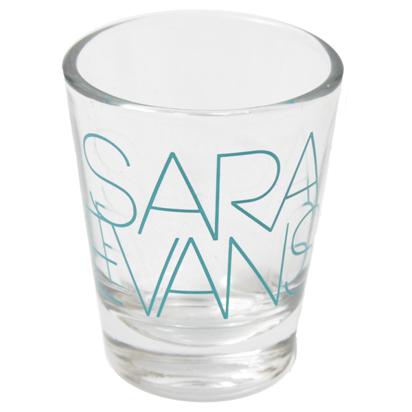 Sara Evans Shot Glass