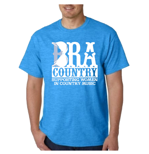 Bra Country Blue T-Shirt