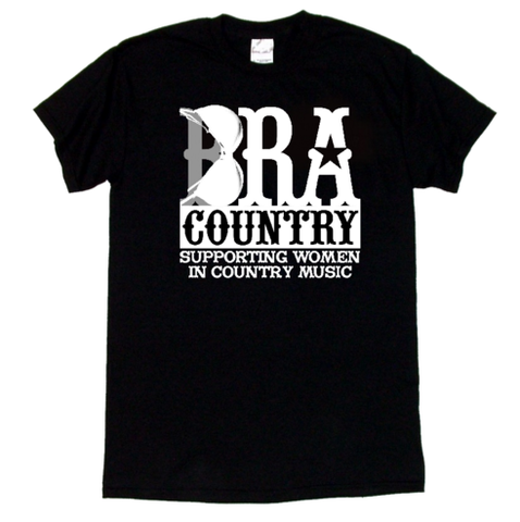 Bra Country Black T-Shirt