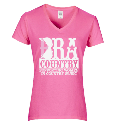 Bra Country Pink Women's T-Shirt