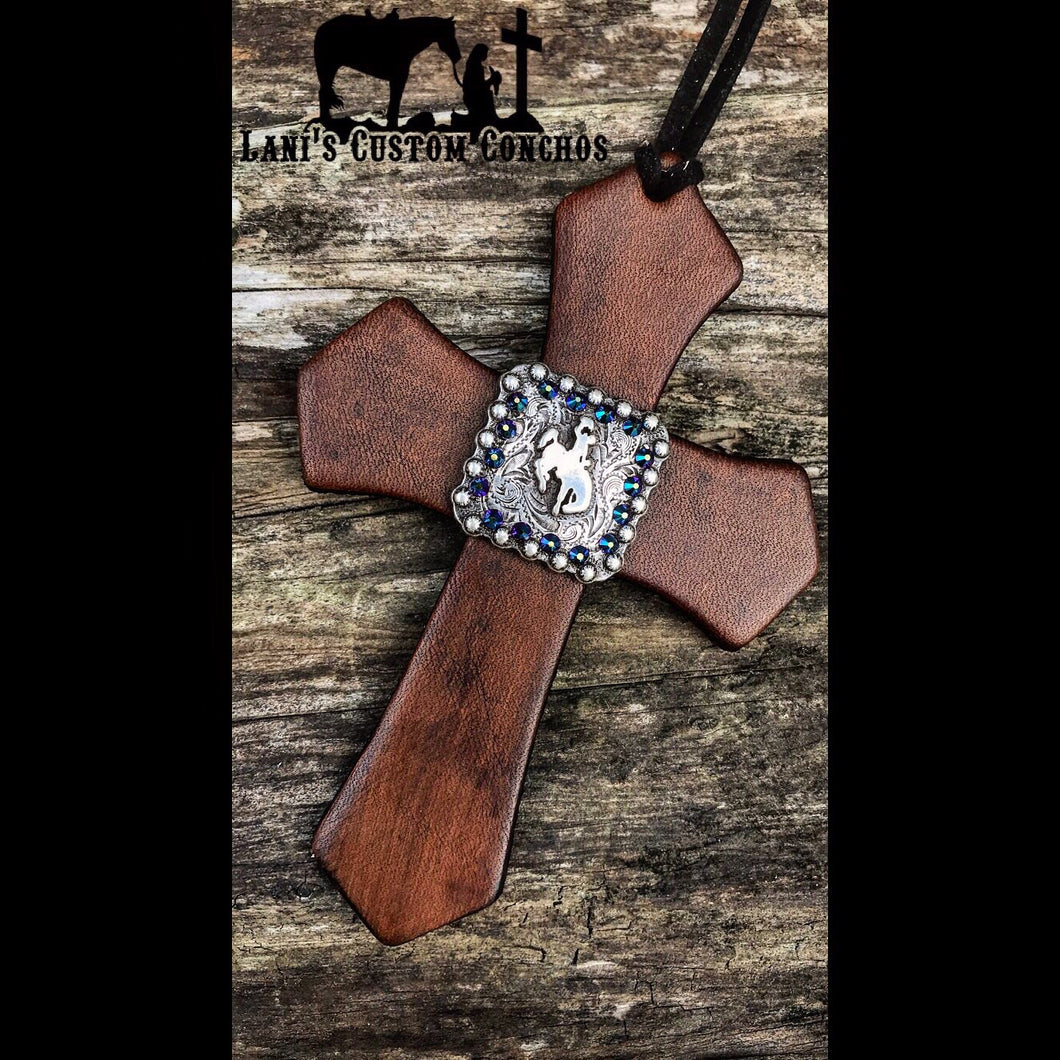 Bronc Saddle Cross