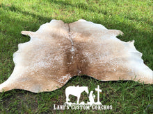 Cream Salt and Pepper Cowhide