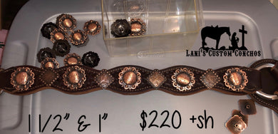 Scalloped Breastcollar W Conchos