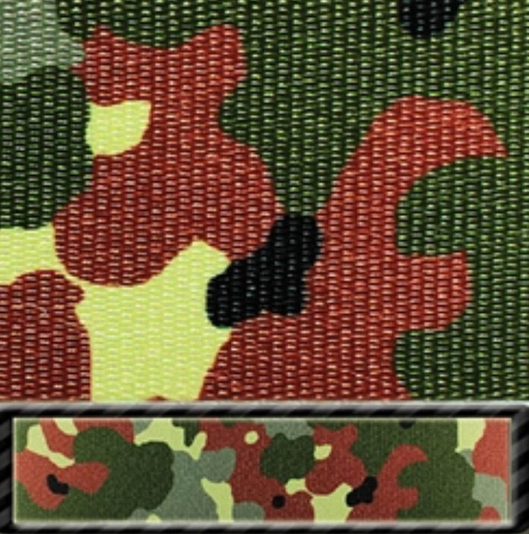 Flecktarn Camo Latigo & Off Billet Set