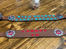 """Wild Hearts Can't Be Broken"" Witherstrap"