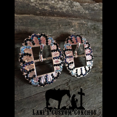Blue, Green, Black Buckle