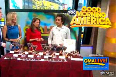 "Raw Chocolate Love Air's On ""Good Morning America"""