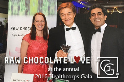Raw Chocolate Love was proud to participate in the 2016 Healthcorps Gala
