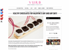 Vurb Magazine Reviews Great Oraganic Chcolate (Including Us!)
