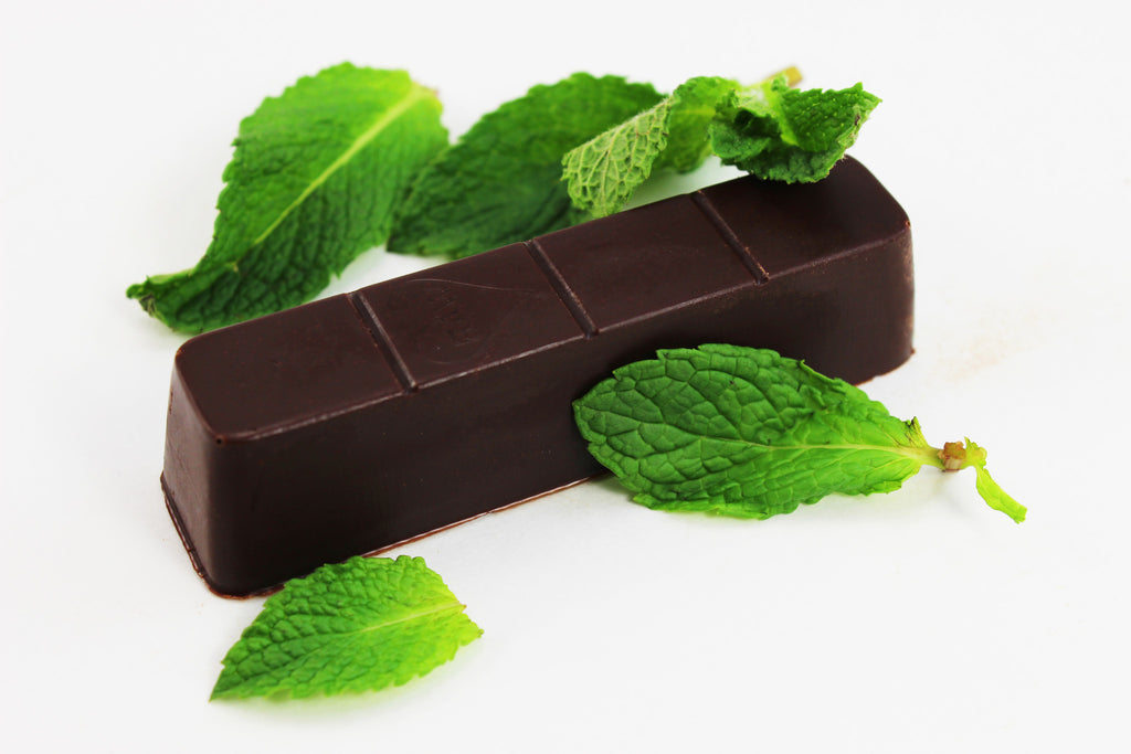Mint Elegance Love (78% Cacao) - RawChocoLove