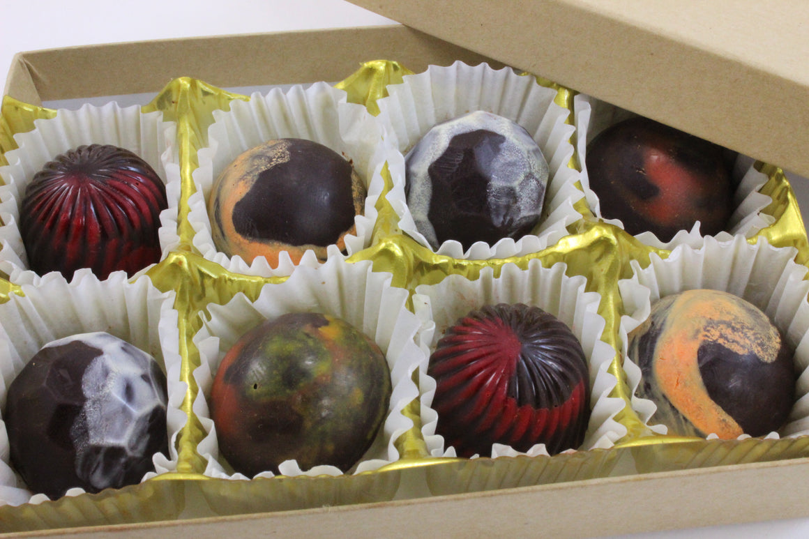 Mini Truffles (Medium 8 Truffles) - RawChocoLove