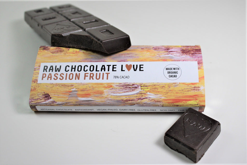 Passion Fruit (78% Cacao) - RawChocoLove
