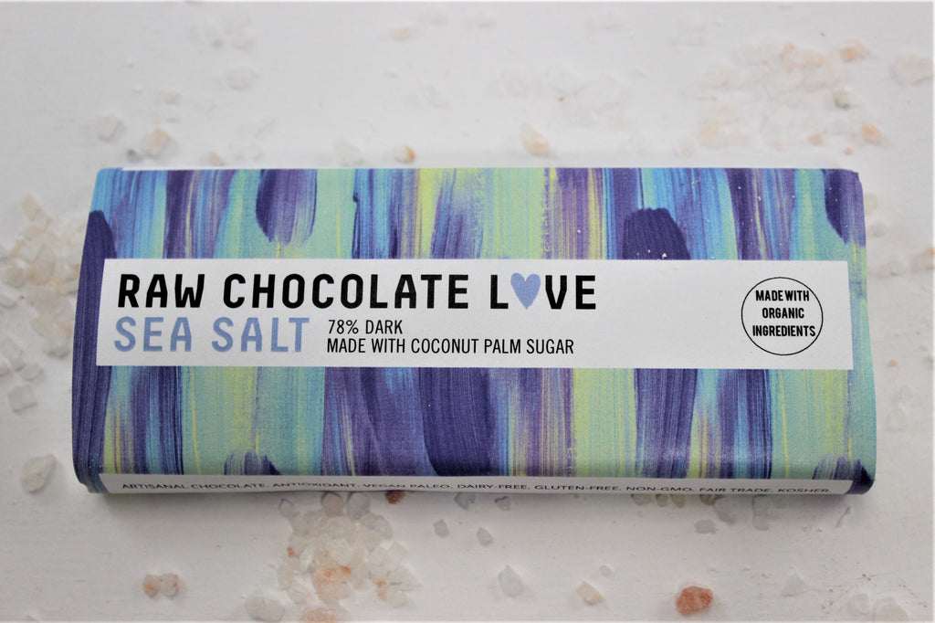 Sea Salt Love (78% Cacao / Coconut Palm Sugar)